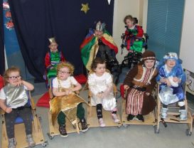 Mitchell House Nativity performances 2017